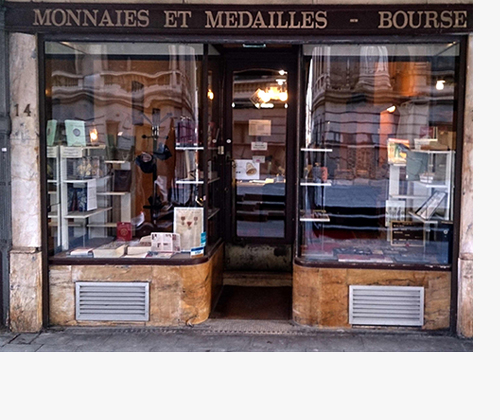 Jean-Luc VAN DER SCHUEREN - Numismate professionnel. Achat et vente de monnaies, médailles, jetons, décorations ou billets de banque.